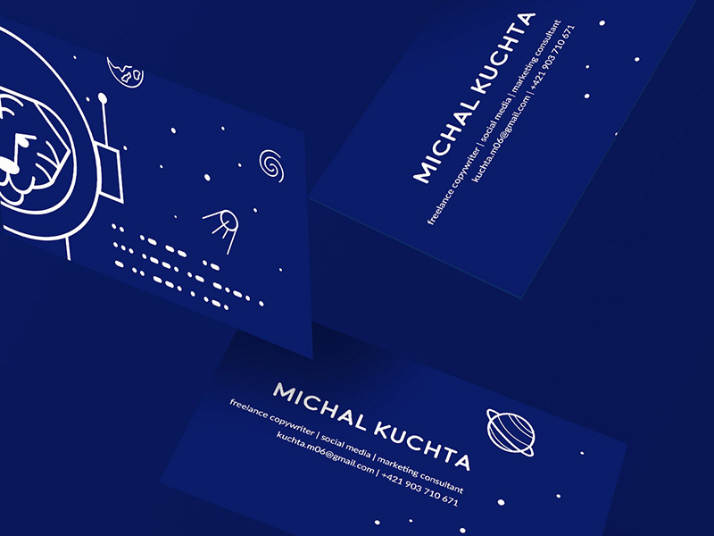 Businesscard - Michal Kuchta